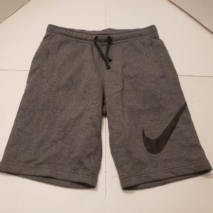 Nike Mens Gray Athletic Shirts Mens Medium in exce